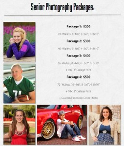 Senior Photography Pricing Wichita KS- Marshall Photography