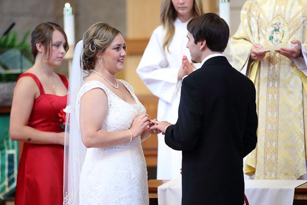 catholic ring exchange photo